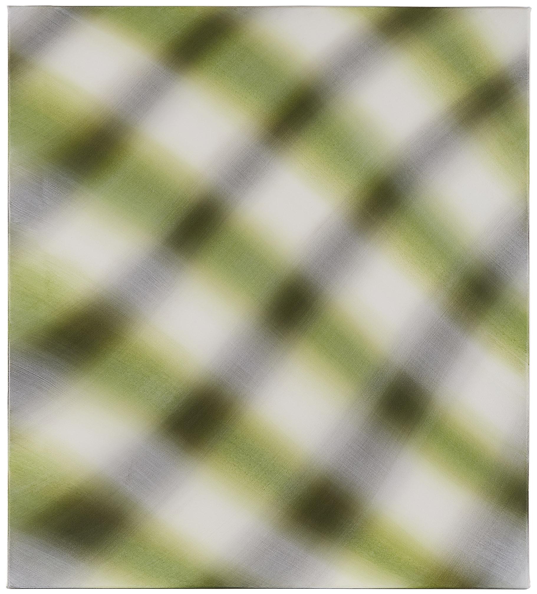 Gabriele Aulehla, ohne Titel, 2017, Acryl auf Leinwand, 40 x 50 cm